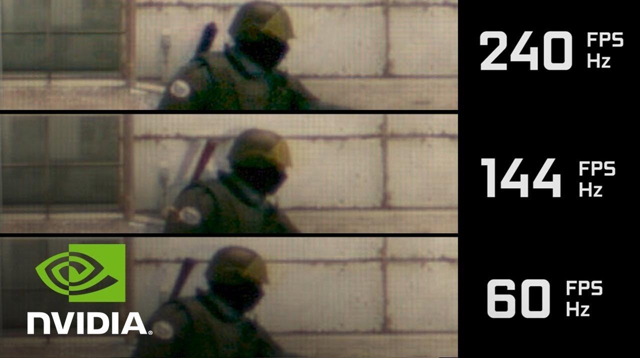 60Hz vs 120Hz vs 144Hz vs 240Hz