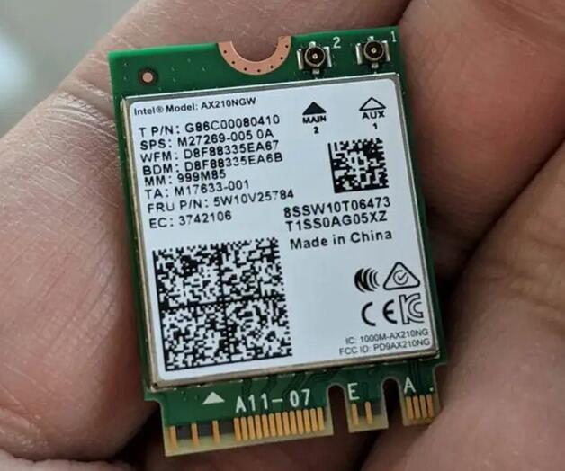 Intel AX210NGW